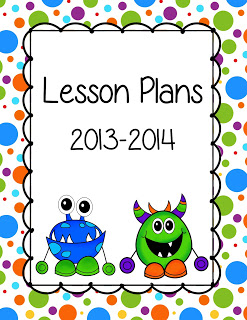 Lesson planning clipart.