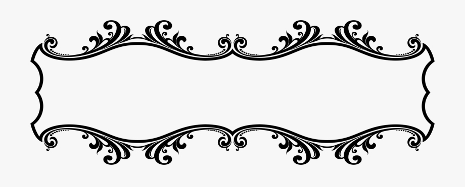 Decorative Borders Decorative Arts Ornament Line Art.