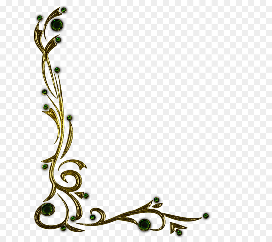 Floral Decorative clipart.