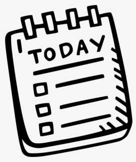 Free To Do List Clip Art with No Background.
