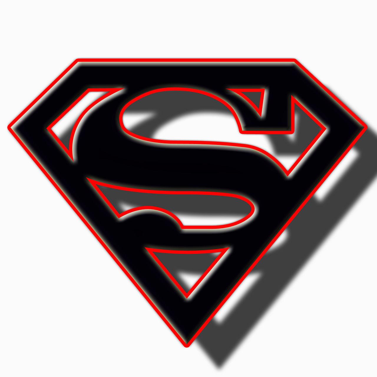 Black Superman Logo Clipart Uploaded By The Best User.