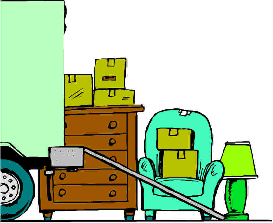 256 Moving Truck free clipart.