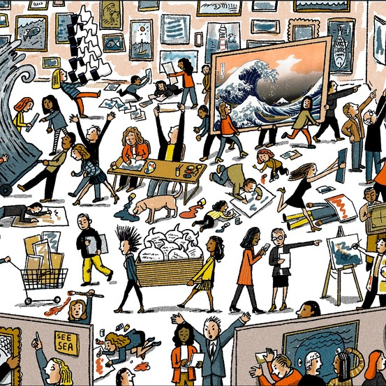 Everybody\'s an Art Curator.