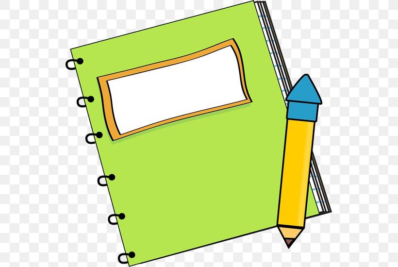 Paper Notebook Pencil Clip Art, PNG, 549x550px, Paper, Area.