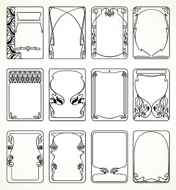 Best Art Nouveau Illustrations, Royalty.