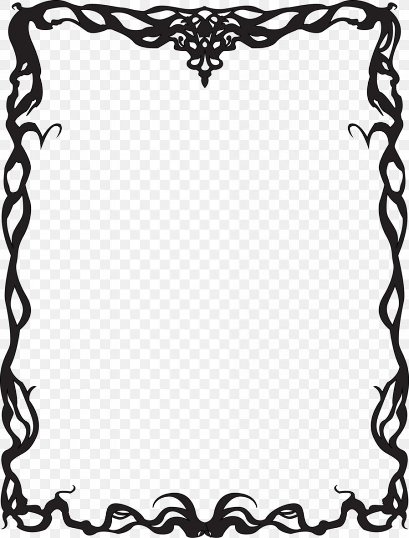 Borders And Frames Art Deco Art Nouveau Clip Art, PNG.