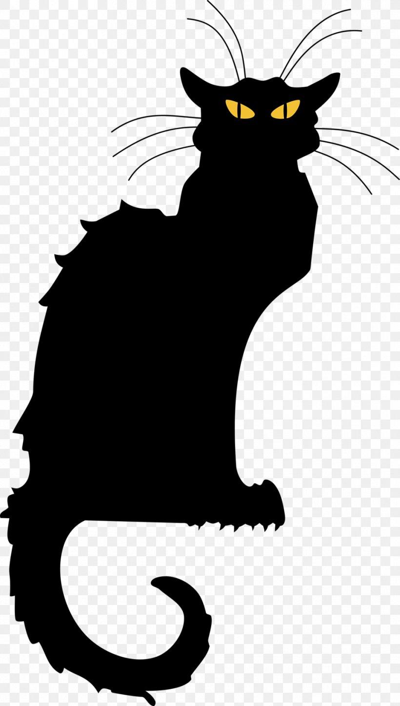 Le Chat Noir Black Cat Tournxe9e Du Chat Noir Clip Art, PNG.