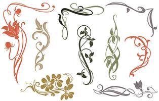 Art Nouveau Design Free Vector Art.
