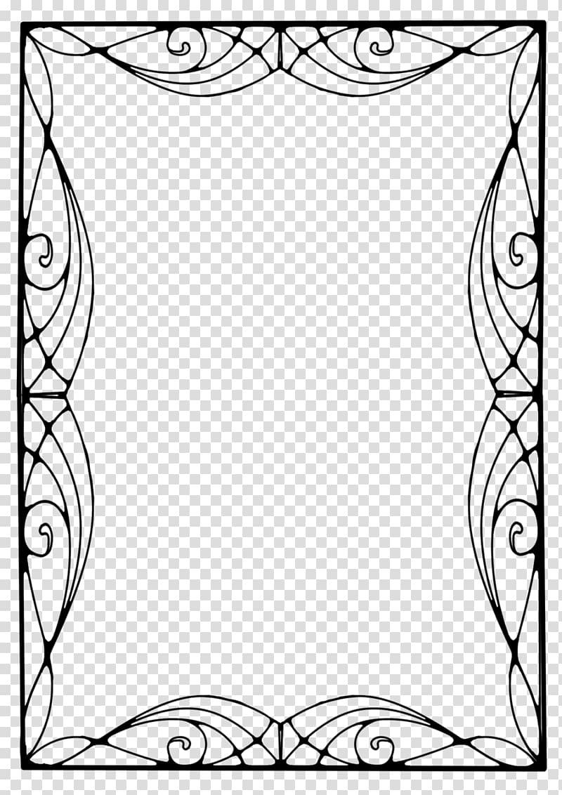 Art Deco Borders Art Nouveau , design transparent background PNG.
