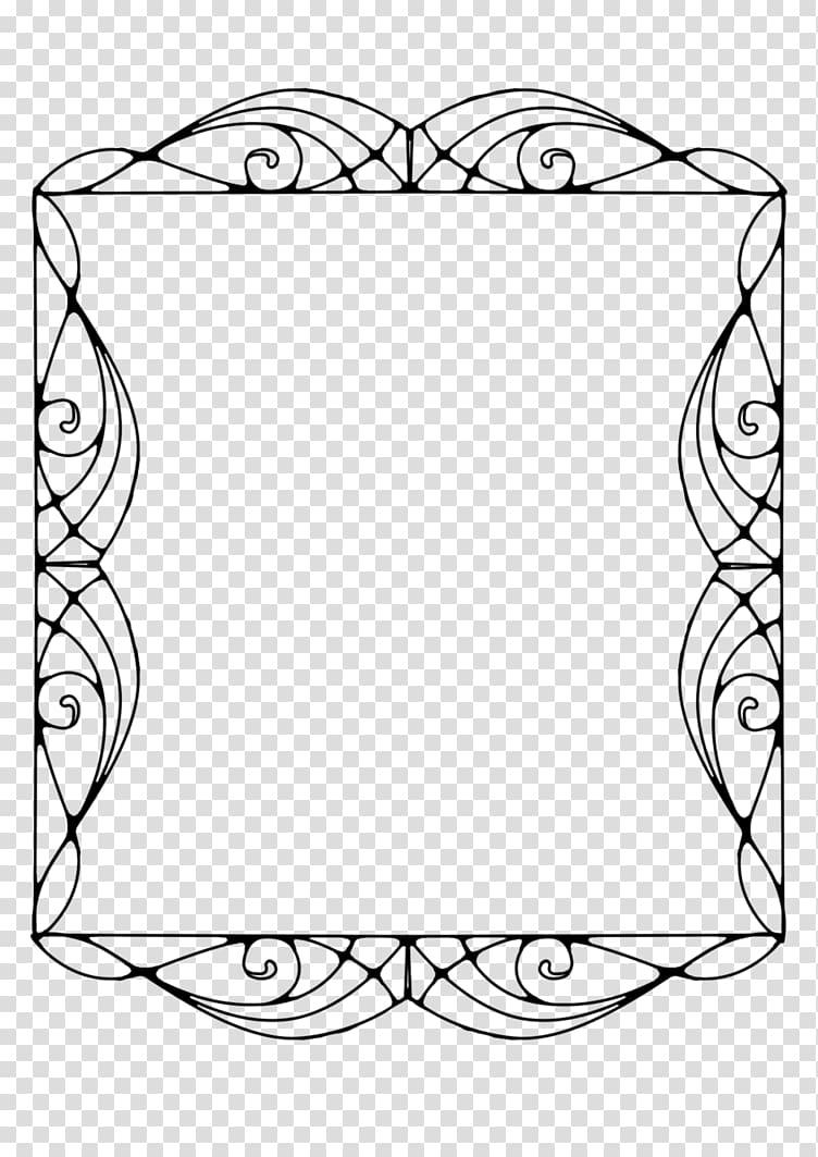 Art Deco Art Nouveau , oval border transparent background.