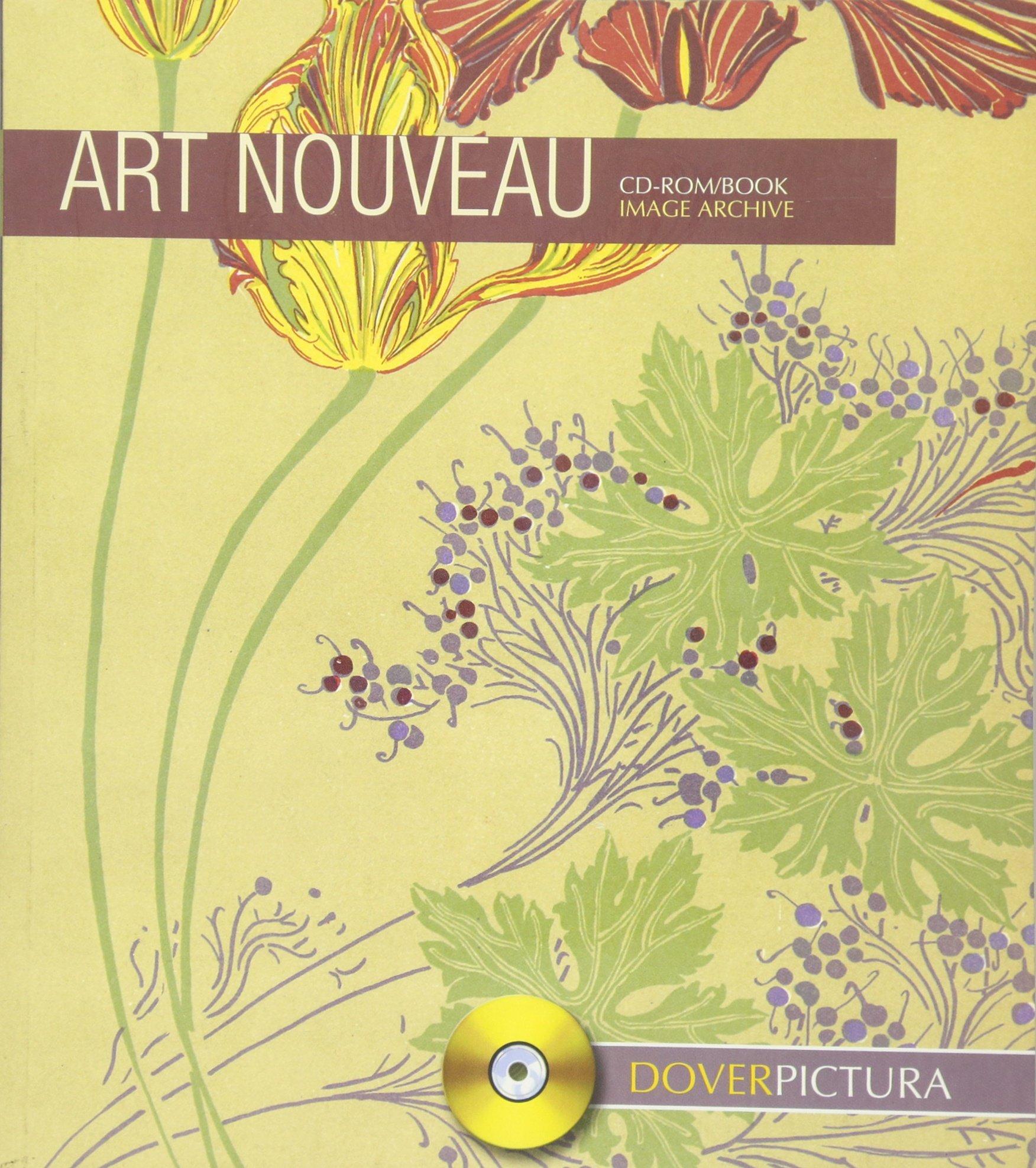 Art Nouveau (Dover Pictura Electronic Clip Art): Dover.