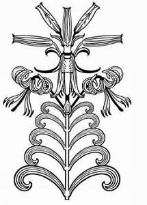 Dover Electronic Clip Art: Art Nouveau Floral Designs by Marty Noble (2005,  Paperback).