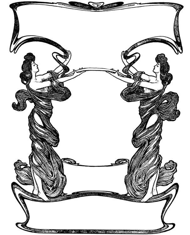 Welcome to Dover Publications: Art Nouveau Decorative.