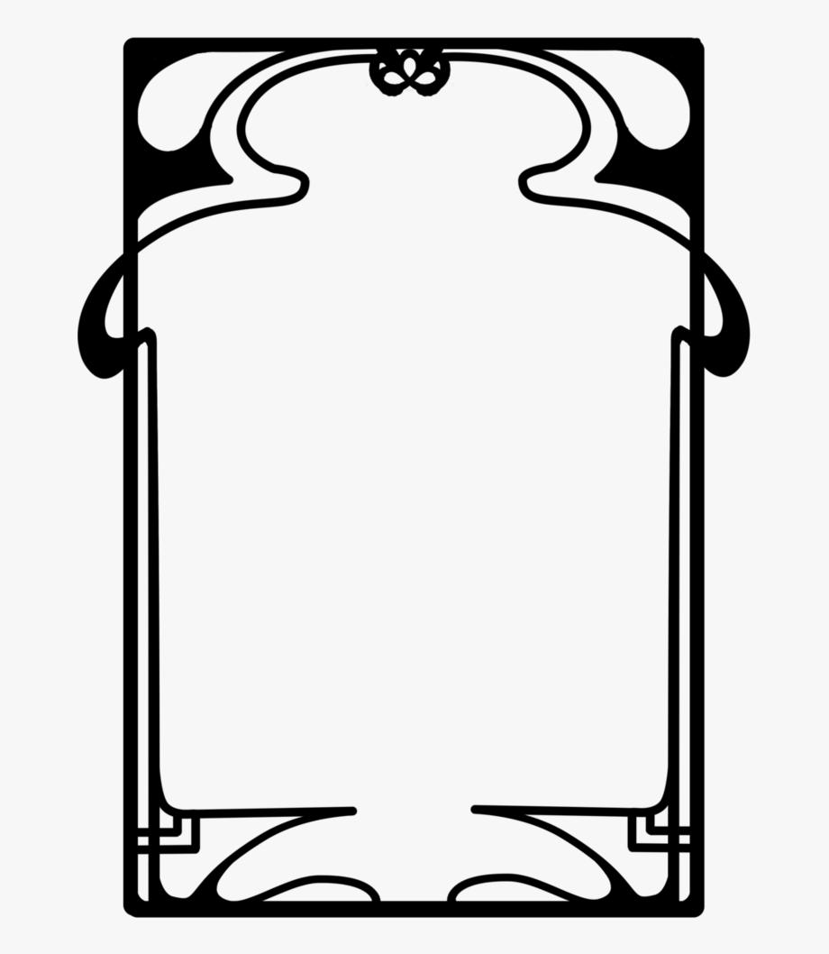 Art Nouveau Frame Png , Png Download.
