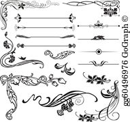 Art Nouveau Clip Art.