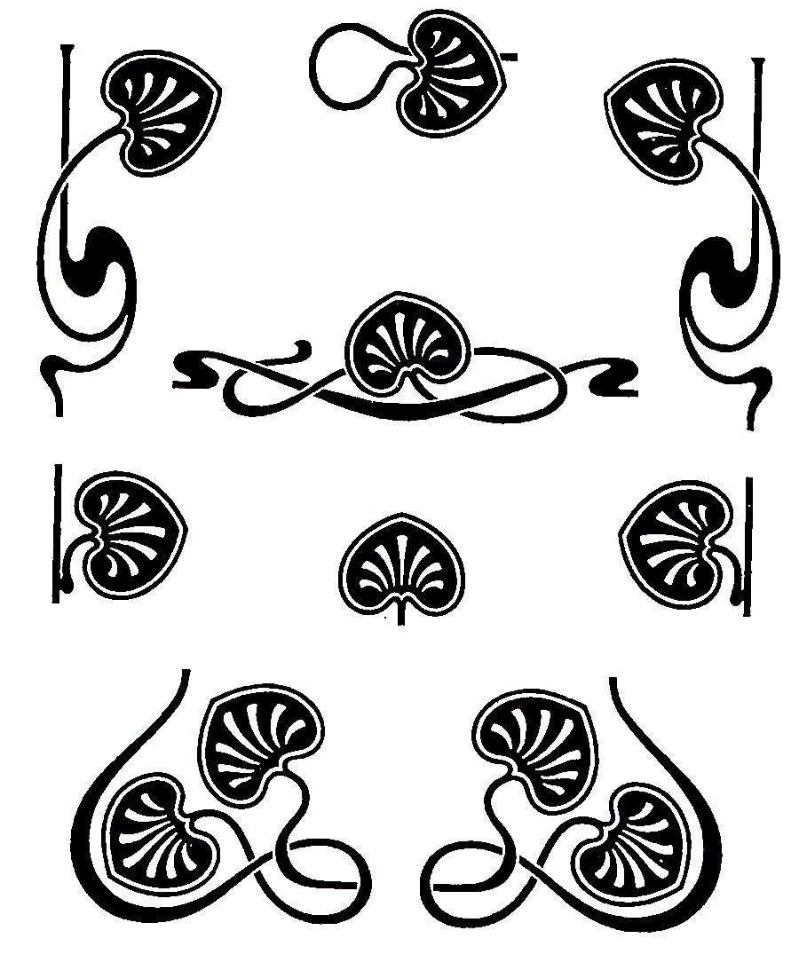 Free art nouveau clipart 5 » Clipart Portal.