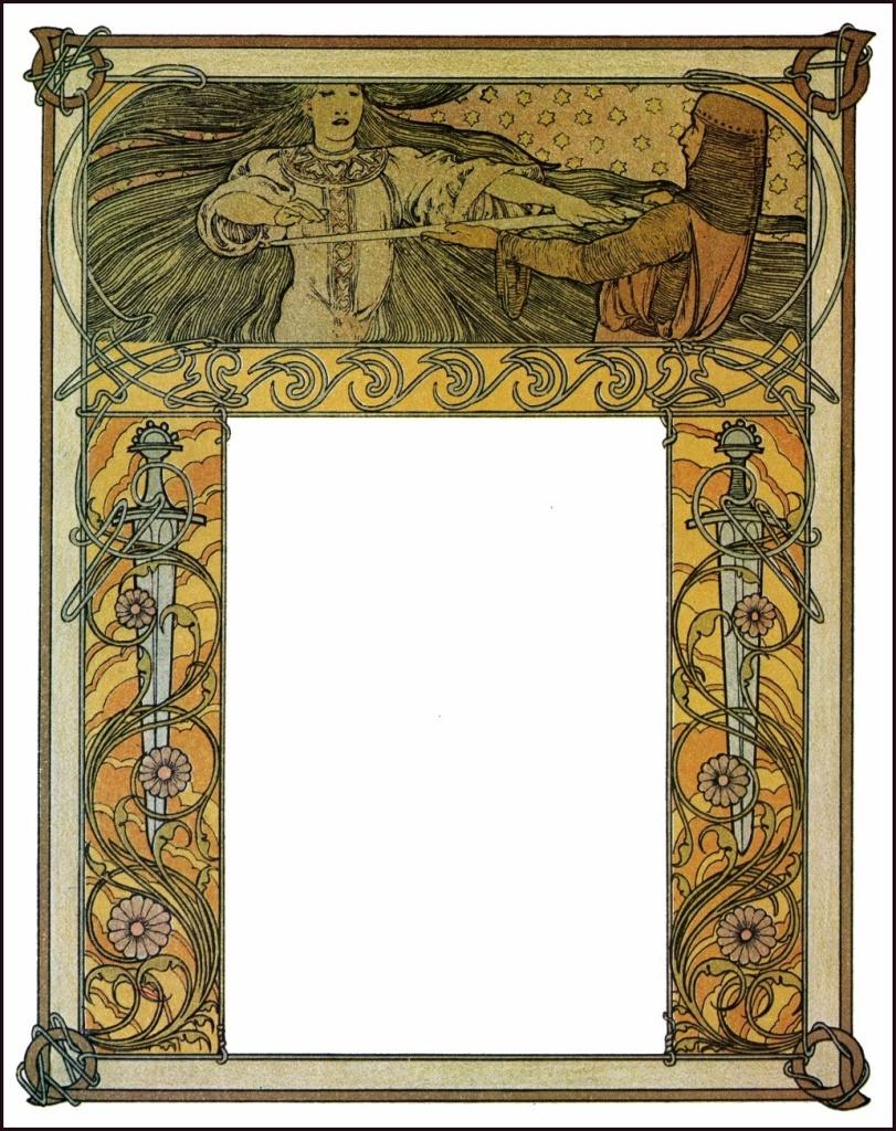 free art nouveau clipart Archives.