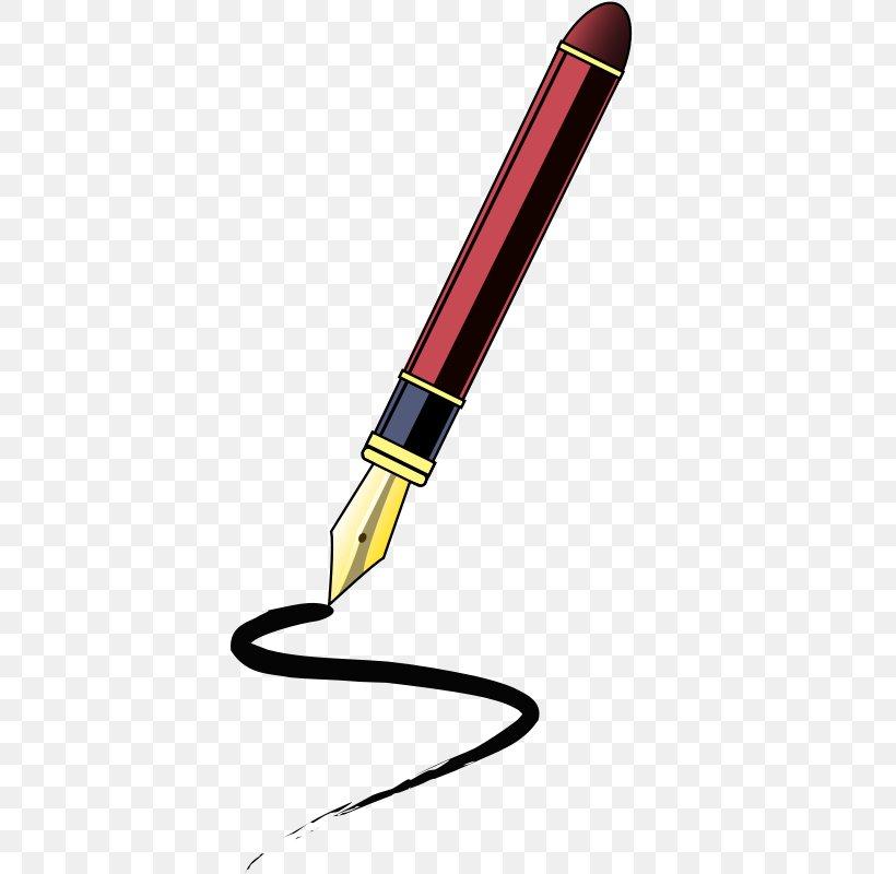 Fountain Pen Ballpoint Pen Clip Art, PNG, 398x800px, Pen.