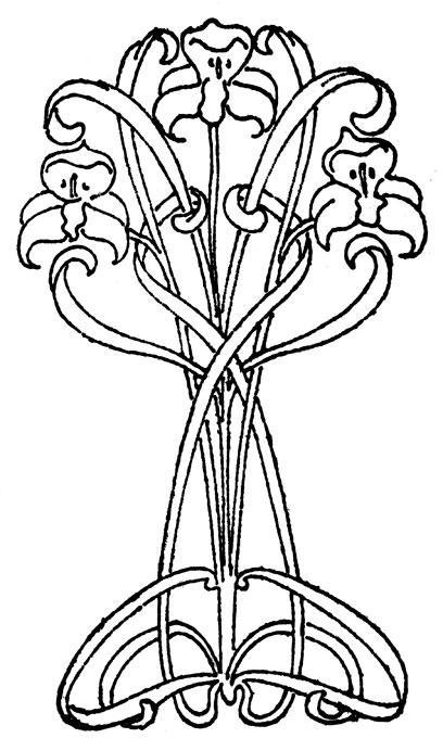 Art Nouveau Designs.