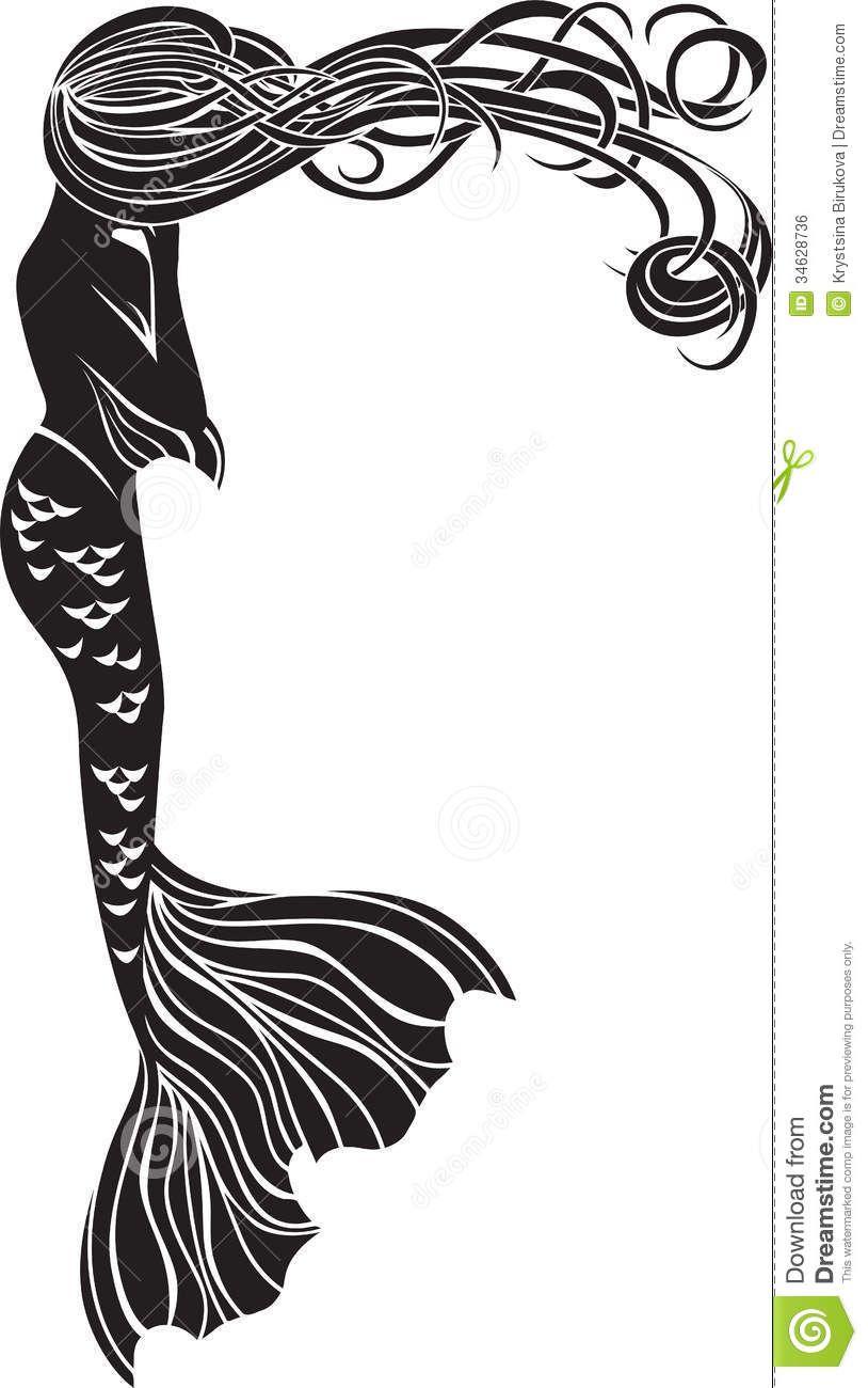 Mermaid cliparts in 2019.