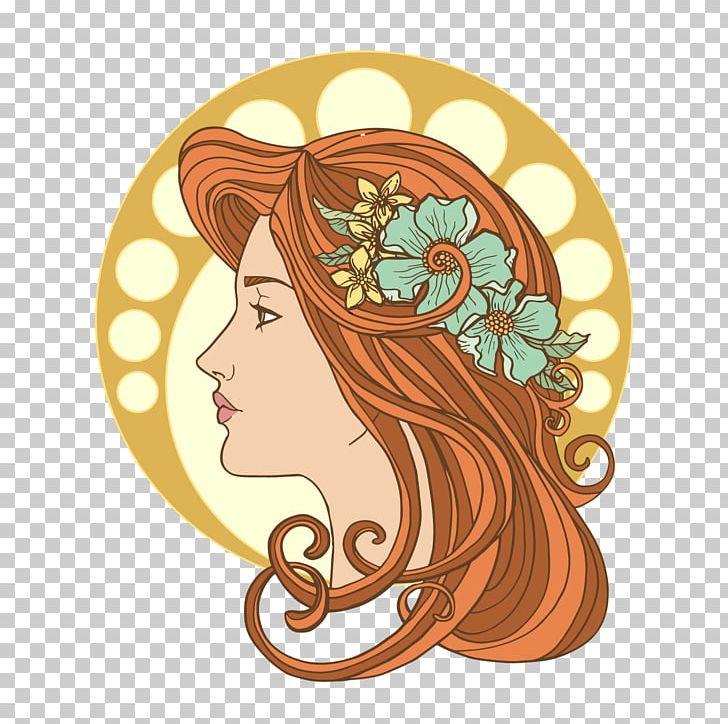 Face Icon PNG, Clipart, Art Nouveau, Background Decoration.