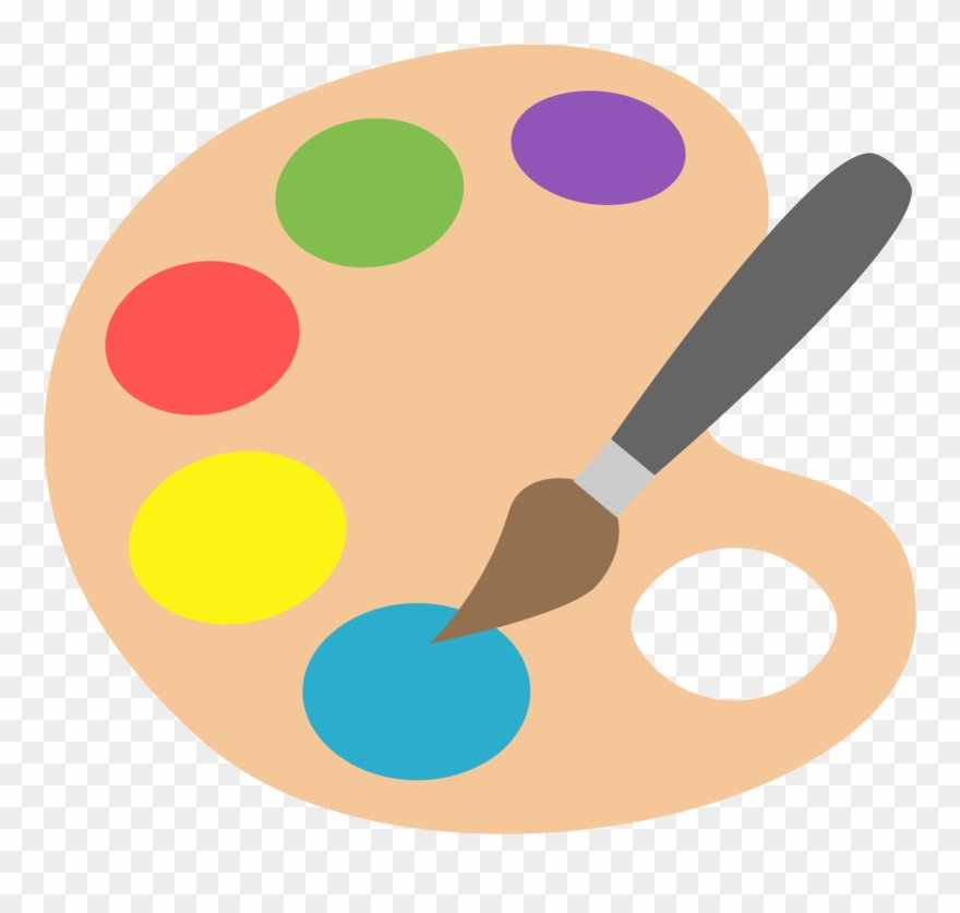 Painting Clipart Paint Palette.