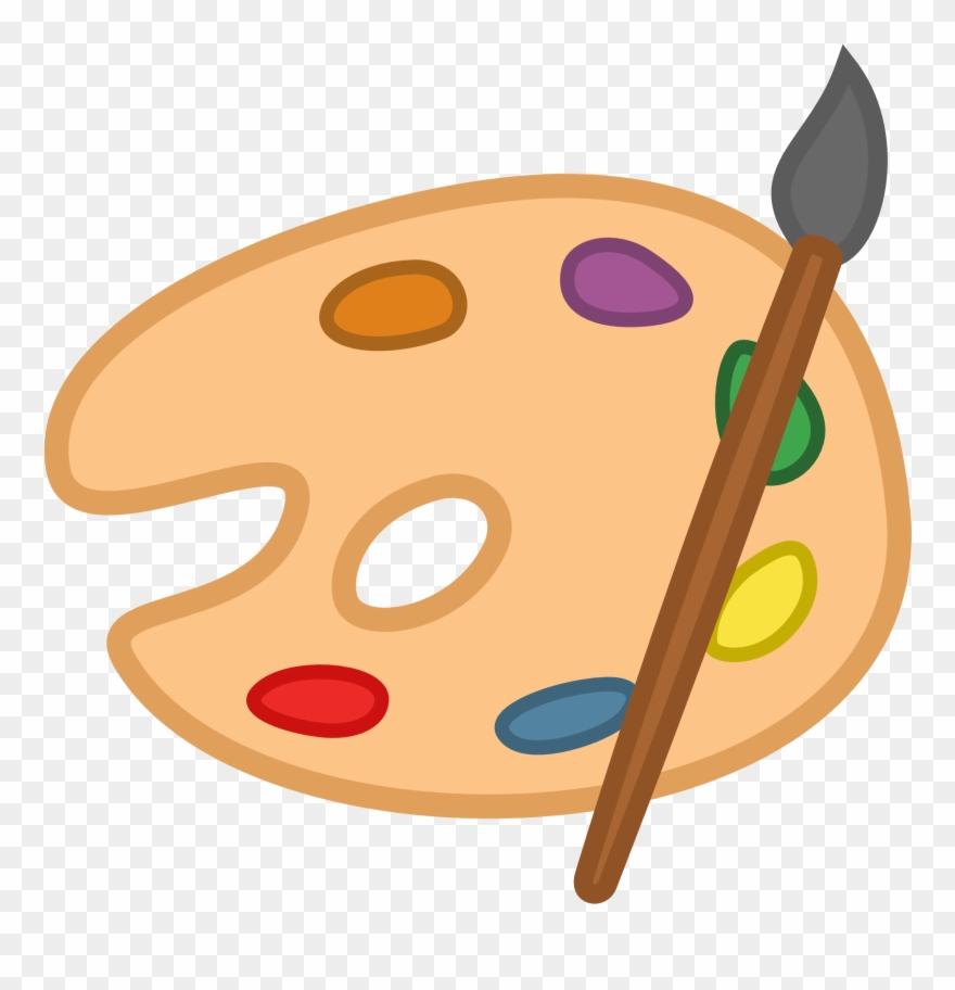 Images For Art Palette Clip Art.