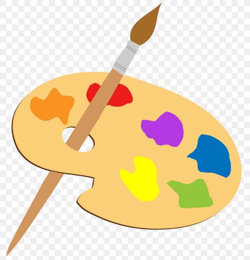 Paintbrush Palette Painting Clip Art, PNG, 1235x1285px.