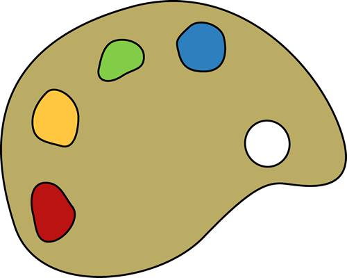 Paint With Palet Clip Art