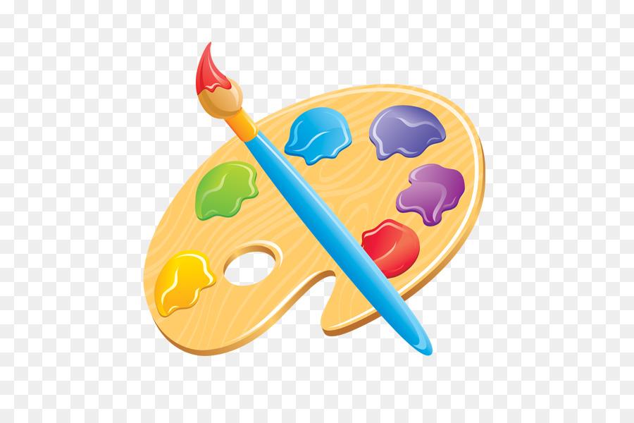 Paint Brush Cartoon png download.