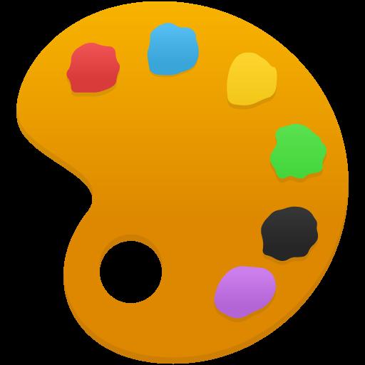 Artist Palette Icon #80028.
