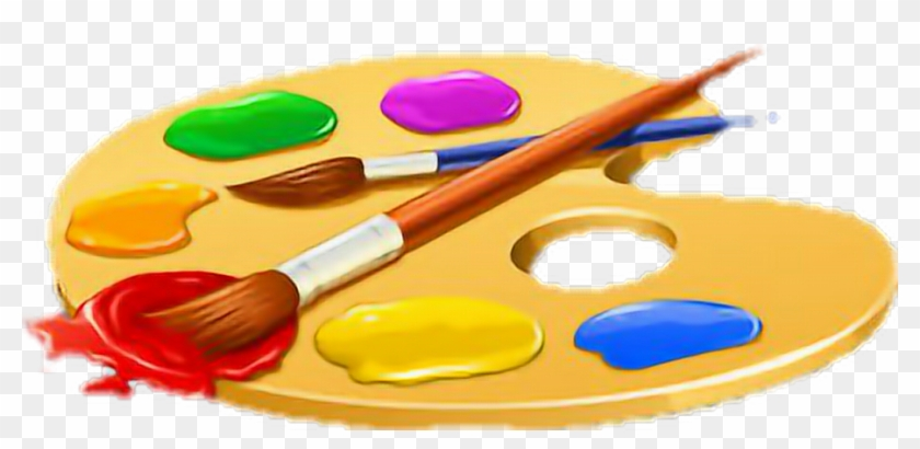 palette #paint #paintbrush #paintpalette #art.