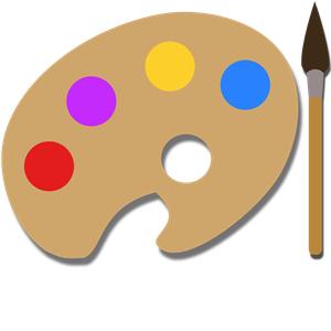 Paint Palette clipart, cliparts of Paint Palette free download (wmf.