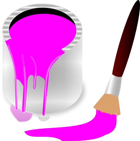 Free Cliparts Pink Paint, Download Free Clip Art, Free Clip.