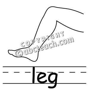 Clip Art: Parts of the Body:.