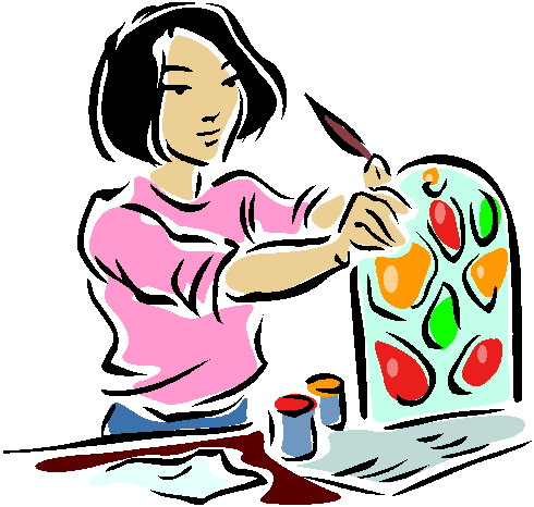 Art projects clipart.