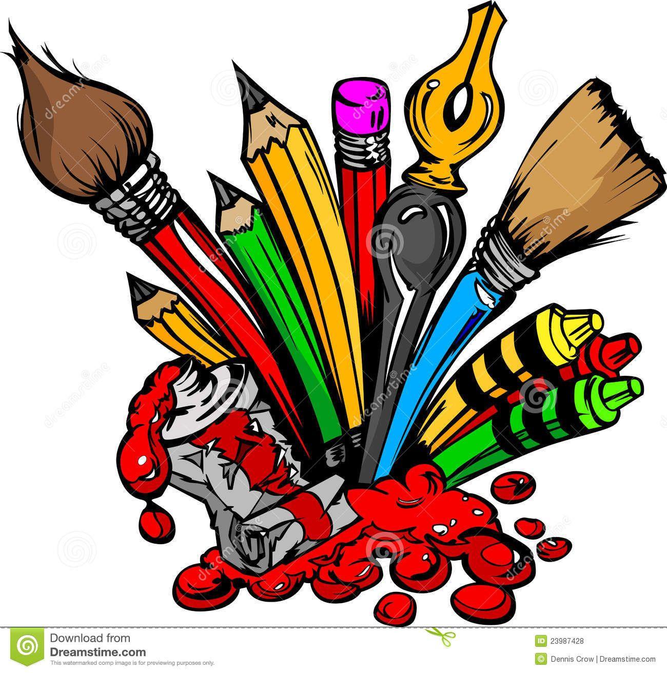 Art Supplies Images.