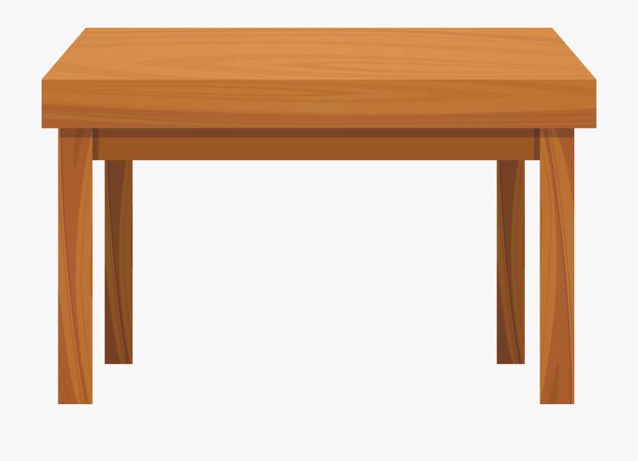 Table Wood Clip Art.