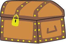 Clip art treasure chest clipart.