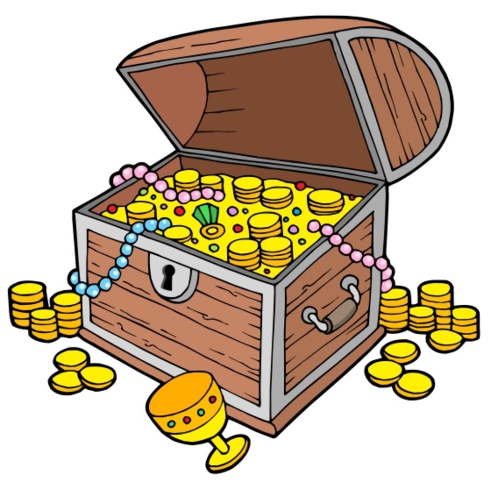 Clip art treasure chest clipart image 3.