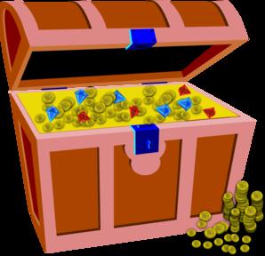 Treasure Chest Clip Art at Clker.com.