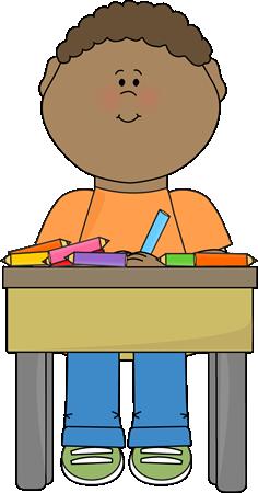 Student Doing School Work.