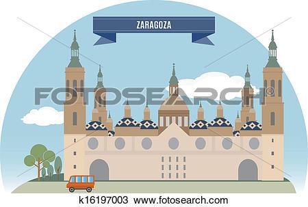 Clipart of Zaragoza k16197003.