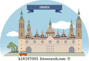 Zaragoza Clip Art and Illustration. 72 zaragoza clipart vector EPS.