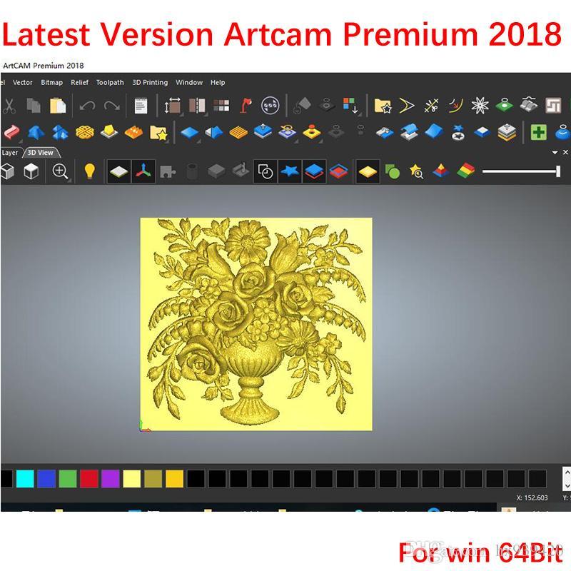 100% Perfect Working ArtCAM Premium 2018 Multi.