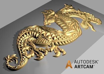 Relief Clipart Library and Component Library for Autodesk ArtCAM.