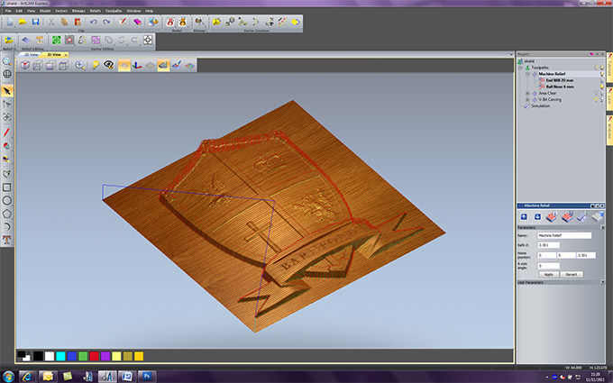 Design software / 2D / 3D.