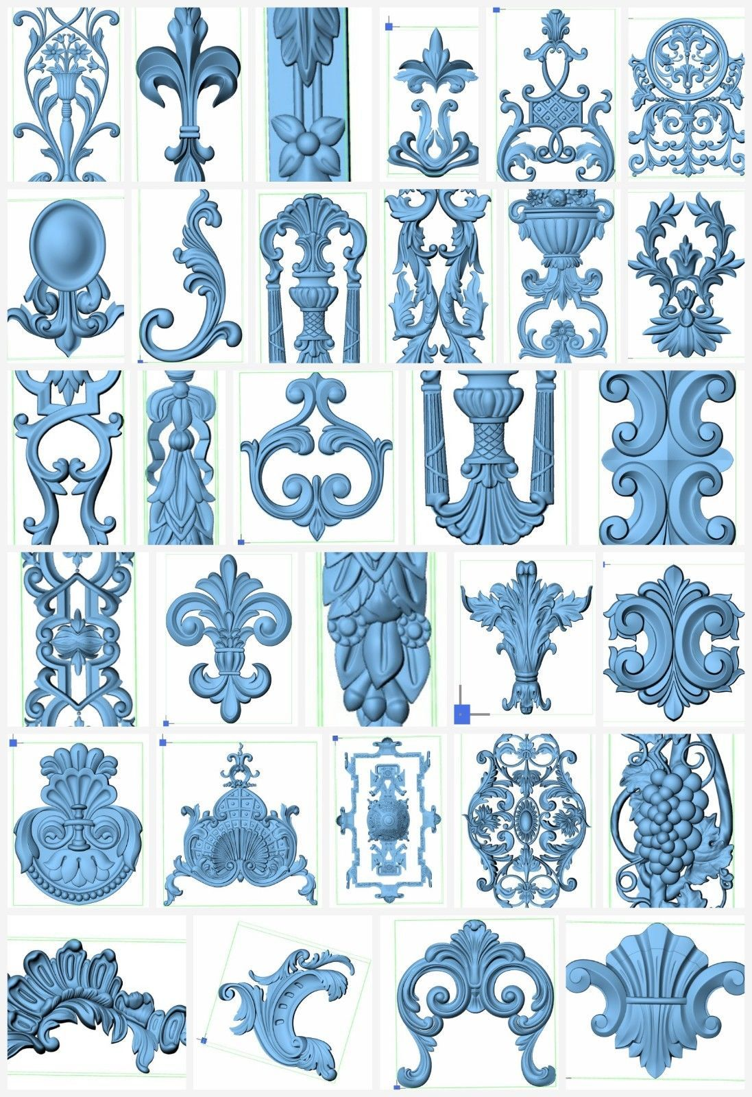 More than 50+ 3d STL Models.
