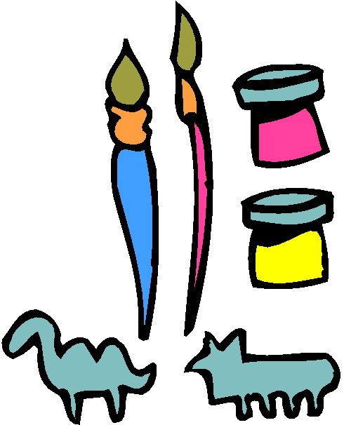 Clip art and craft.