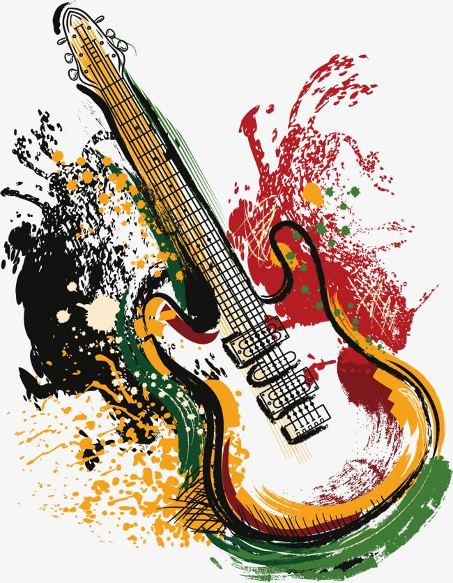 Vector Art Guitar, Guitar Vector, Guitar, Vector PNG and Vector with.
